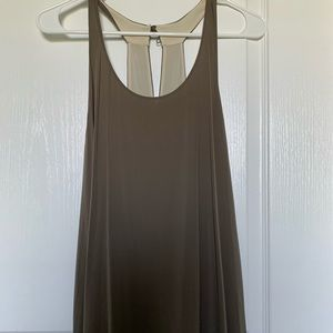 Alice and Olivia Halter High-low maxi dress